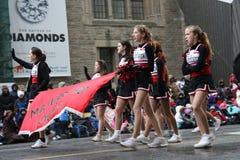 De parade 2008 van de Kerstman Stock Afbeelding
