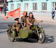 De parade 2009 van de overwinning Royalty-vrije Stock Foto's