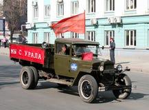 De parade 2009 van de overwinning Stock Foto