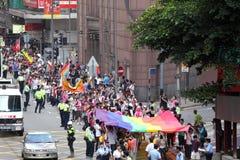 De Parade 2009 van de Trots van Hongkong Stock Afbeelding