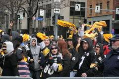 De Parade 2009 van Pittsburgh Steeler Stock Foto's