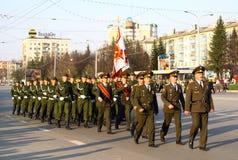 De Parade 2010 van de overwinning Stock Foto