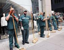 De parade 2011 van de Dag van Israël Stock Foto