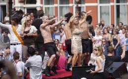 De Parade 2011 van het Kanaal van Amsterdam Royalty-vrije Stock Afbeelding