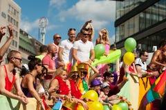 De Parade 2012 van de Trots van Stockholm royalty-vrije stock foto's