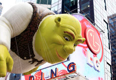 De Parade 26 November, 2009 van Thanksgiving day van Macy Stock Foto