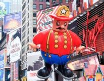 De Parade 26 November, 2009 van Thanksgiving day van Macy Stock Foto's