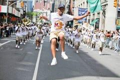 De Parade NYC van de dans stock afbeelding