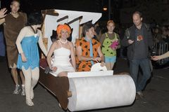 De parade NYC van Halloween Stock Foto's