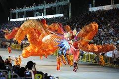 De Parade Singapore van Chingay 2011 Stock Afbeelding