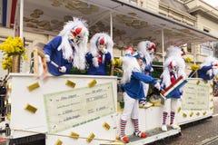 De parade van Bazel Carnaval 2018 in Zwitserland Royalty-vrije Stock Afbeeldingen