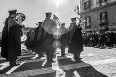 De parade van Carabinieri Royalty-vrije Stock Foto's
