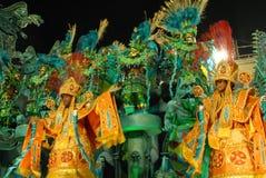 De parade van Carnaval Stock Foto