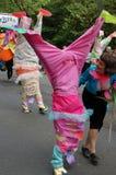 De parade van Carnaval, het festival van het Eind van het Westen, Glasgow Stock Foto's
