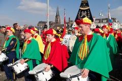 De parade van Carnaval van Maastricht 2011 Royalty-vrije Stock Fotografie
