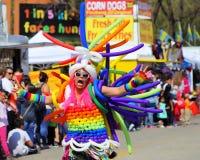 De Parade van Cinco DE Mayo stock afbeelding