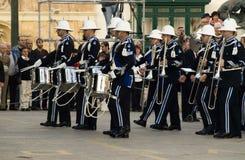 De Parade van de Band van de politie Stock Fotografie