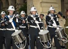 De Parade van de Band van de politie Stock Foto's
