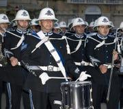 De Parade van de Band van de politie Stock Afbeeldingen