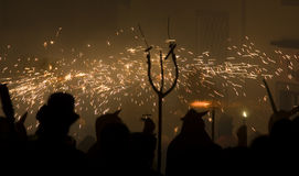 De parade van de brand Stock Afbeelding