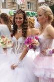 De parade van de bruid Stock Foto