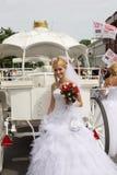 De parade van de bruid Royalty-vrije Stock Fotografie
