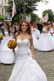 De parade van de bruid Royalty-vrije Stock Afbeelding