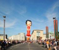 De Parade van de Dag van ballons stock afbeeldingen