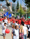 De Parade van de Dag van de Arbeid Stock Fotografie