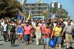 De Parade van de Dag van de Arbeid Royalty-vrije Stock Fotografie