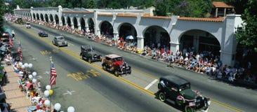 De Parade van de Dag van de onafhankelijkheid stock afbeelding