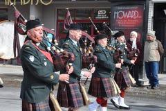 De parade van de Dag van heilige Patrick Royalty-vrije Stock Foto's
