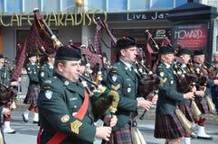 De parade van de Dag van heilige Patrick Stock Foto