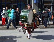 De parade van de Dag van heilige Patrick Stock Afbeelding