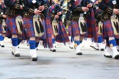 De Parade van de Dag van heilige Patrick in NYC Stock Foto's