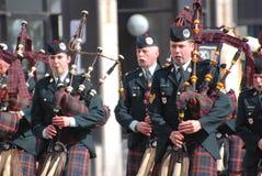 De parade van de Dag van heilige Patrick, Ottawa Royalty-vrije Stock Fotografie