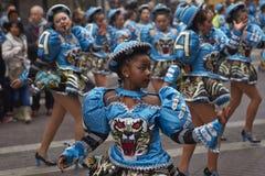De Parade van de de Onafhankelijkheidsdag van Bolivië Stock Afbeeldingen