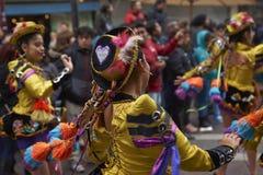 De Parade van de de Onafhankelijkheidsdag van Bolivië Royalty-vrije Stock Afbeelding