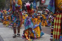 De Parade van de de Onafhankelijkheidsdag van Bolivië Royalty-vrije Stock Afbeeldingen