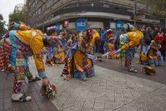 De Parade van de de Onafhankelijkheidsdag van Bolivië Royalty-vrije Stock Foto