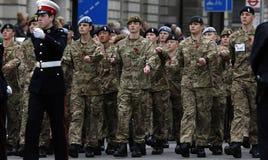 2015, de Parade van de Herinneringsdag, Londen Royalty-vrije Stock Fotografie