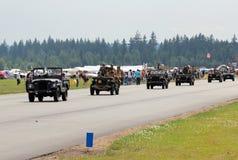 De parade van de jeep Royalty-vrije Stock Foto