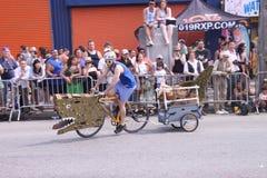 De Parade van de meermin stock foto