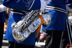 De parade van de muziek royalty-vrije stock foto