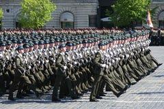 De parade van de overwinning Royalty-vrije Stock Foto's