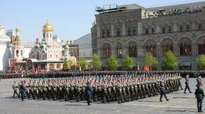 De parade van de overwinning royalty-vrije stock fotografie