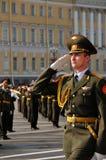 De parade van de overwinning. Royalty-vrije Stock Afbeeldingen