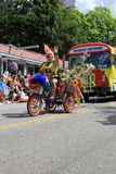 De parade van de trots stock afbeelding