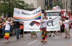 De Parade van de Trots van Toronto Stock Foto
