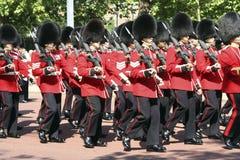 De parade van de Verjaardag van de Koningin Stock Foto
